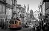 Twent two (Behappyaveiro) Tags: porto oporto portugal europe street city cidade autumn rua clerigos ´ tram