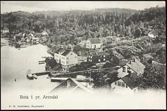 Postkort fra Agder (Avtrykket) Tags: bolighus brygge hus postkort sjekte uthus arendal austagder norway nor