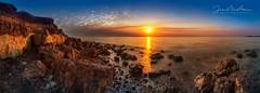 Indented Head Cliff Pano (Goldmanoz) Tags: indentedhead sunrise bellarinepeninsula bellarine geelong longexposure australia sonya7riii panorama panoramic stitched