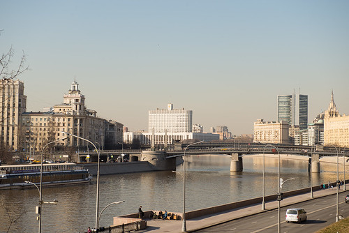 Moscow river ©  Andrey