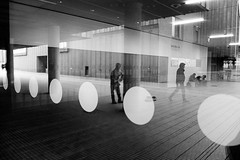 circles (99streetstylez) Tags: street streetphotography 99streetstylez people monochrome fujix100f 28mm acros germany cologne