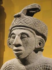 Lizard Hat (edenpictures) Tags: sculpture statue newyorkcity nyc manhattan mesoamerican precolumbian art nativeamerican americanmuseumofnaturalhistory amnh naturalhistorymuseum museum upperwestside