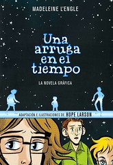 Una arruga en el tiempo:  novela grafica (Vernon Barford School Library) Tags: madeleinelengle madeleine lengle hopelarson hope larson awrinkleintime timequintet 1 one series adventure extraterrestrialbeings extraterrestrials fantasy fantasyfiction missingpersons missingpeople sciencefiction science fiction spaceandtime graphic novel novels graphicnovel graphicnovels cartoons comics languages lote languagesotherthanenglish secondlanguage secondlanguages foreignlanguage foreignlanguages vernon barford library libraries new recent book books read reading reads junior high middle vernonbarford fictional paperback paperbacks softcover softcovers covers cover bookcover bookcovers 9788417247027