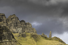 Another Storry ([CamCam]) Tags: isle skye scotland old man storr rock rocks mountains light green blue mountain camcam