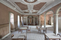 The Classic Hotel (Sean M Richardson) Tags: abandoned hotel portugal architecture details canon photography explore exploration urbex symmetry decay classic