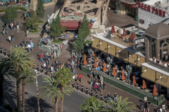 Las Vegas Strip (Tilt Shifted)