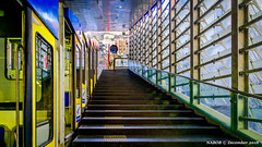 Naples, Italy: Montesanto Funicular Station (nabobswims) Tags: campania funicular funiculare hdr highdynamicrange ilce6000 it italia italy lightroom mirrorless montesanto nabob nabobswims naples napoli photomatix rapidtransit sel18105g sonya6000 station