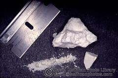 coke lump (hoffman) Tags: blade cocaine coke dealer drug horizontal powder razor smuggler smuggling 181112patchingsetforimagerights uk