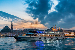 Bosphorus Tour (iNezar) Tags: ifttt 500px bosphorus tour boat sunset sun sky blue mosque istanbul turkey trip travel sea water beach clouds ocean architecture night sunrise lake contrast sultan ahmed