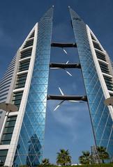 WTC Bahrain (hph46) Tags: bahrain manama worldtradecenter wtc architektur arabien wolkenkratzer sony alpha6500 canonef1635mm14lisusm