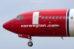 Norwegian B737-8JP LN-DYO (José M. Deza) Tags: 20190118 b7378jp bcn boeing elprat lebl lndyo norwegain planespotting spotter aircraft