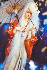 Kitsune (Pikko_chan) Tags: bjd balljointeddoll bjdphotography balljointeddollphotography bjdboy beautifulbjd bjdhybrid abjd abjdphotography sdbjd elfdoll elfdollmir kitsune foxspirit japanesefolklore resinjunky 50mmphotography stilllifephotography