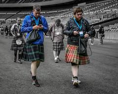 Kilt Fashion Misdemeanours (FotoFling Scotland) Tags: event edinburgh kiltwalk scotland charity kilt kiltmisdemeanour kilted meninkilts murrayfieldstadium walk fashion