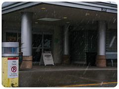 Then Flurries (prima seadiva) Tags: snow winter grouphealth entrance sign