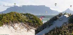 (Rob Millenaar) Tags: southafrica bloubergstrand dolphinbeach capetown tablemountain kitesurfing scenery landscape