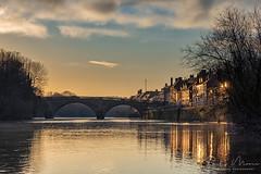 Bewdley Bridge (Philip Moore Photography) Tags: bewdley bewdleybridge riversevern river winter sunrise architecture historic thomastelford worcestershire england landscape