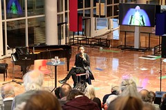 Neo Muyanga 7495-9_3027 (Co Broerse) Tags: music contemporary composed vocal off days day 3 opera forward festival amsterdam ballet 2019 cobroerse keynote speech foyer nationale 19 neo muyanga composer southafrican