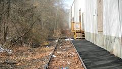 Track to Nowhere (blazer8696) Tags: 2019 ct connecticut dscn4427 ecw fishkill hpf hartford newington newingtonjunction providence t2019 usa unitedstates abandoned railroad siding