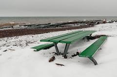 Brighton Beach in Winter - Duluth, Minnesota (Tony Webster) Tags: brightonbeach december duluth lakesuperior minnesota northshore lake snow waves winter