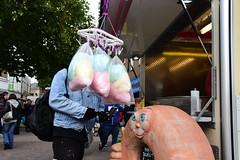 Doughnut and Candyfloss (Bury Gardener) Tags: streetphotography suffolk street streetcandids snaps strangers candid candids people peoplewatching folks 2018 nikond7200 nikon england eastanglia burystedmunds britain cornhill