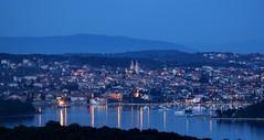 Medulin (kristijan.siladic) Tags: panorama bluehour vista skyline landscape city cityscape lights citylights