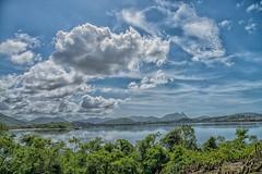 Vista da lagoa com a pedra do elefante ao fundo (mcvmjr1971) Tags: red parnit ilha do pontal niteroi nikon d800e lens sigma 2435 art f20 mmoraes lagoa de piratininga