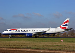 G-LCYL Embraer 190 British Airways (Keith B Pics) Tags: glcyl embraer egmc sen londonsouthendairport keithbpics e190 cityflyer britishairways ba