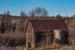 20181216-DSC_6098ext.jpg (GrandView Virtual, LLC - Bill Pohlmann) Tags: wisconsin oldbarn farm abandoned rural weyerhaueserwi rustic silo