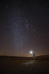 Geminid Meteor Shower and Comet 46P/Wirtanen (Alex Savenok) Tags: geminid meteorshower comet 46pwirtanen landscape stars orion orionbelt orionnebula meteor sky astrophoto astronomy astroscaping israel negev stacking d610 samyang14mm nightsky night nightlight milkyway 35awardsastro2018