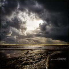 Elmer outfall (rick hathaway photography) Tags: rhfo2o canon canoneos7d elmer elmersands bognorregis westsussex beach sea seaside sky sand sun waves clouds horizon outfall
