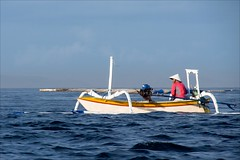 OM181146 Bali White Beach Boat Trip (Dave Curtis) Tags: east bali outrigger boat 2014 em5 may omd olympus whitebeach