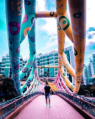 The Alkaff Bridge (singaporeguidebook) Tags: travelwithus singaporeguidebook singapore triptosingapore touristattractions travelguide beautifulplacesinsingapore