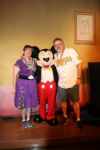 """Tracey and Scott with Mickey Mouse • <a style=""""font-size:0.8em;"""" href=""""http://www.flickr.com/photos/28558260@N04/32171002658/"""" target=""""_blank"""">View on Flickr</a>"""