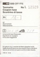 "Bahnfahrausweis Schweiz • <a style=""font-size:0.8em;"" href=""http://www.flickr.com/photos/79906204@N00/32259367368/"" target=""_blank"">View on Flickr</a>"