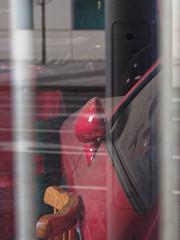 Put aside (☁ ▅▒░☼‿☼░▒▅ ☁) Tags: olympus omd em5 nottingham porsche red 928 put aside minolta