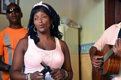 Chan Chan (kodakid18) Tags: trinidadsanctispirituscuba cuba musicians cubanmusicians livemusic portrait singer leadsinger woman women music hof