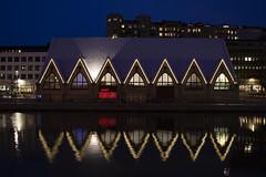 Feskekörka (Rudi Pauwels) Tags: 2019onephotoeachday goteborg gothenburg rosenlund fiskekyrkan fiskekyrka reflections evening handheld iso800
