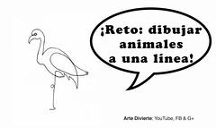 Reto: ¡Dibujando animales con una sola línea! (artedivierte) Tags: arte dibujo artedivierte animales unalínea boceto reto logo tutto3 artistleonardo leonardopereznieto patreon tutorial