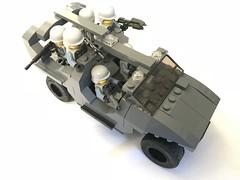 Warthog transport front right (dreki.bryni) Tags: afol halo moc lego