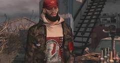 nodisrespect. (T h e P r o p h e t) Tags: men male second life tiller frais fashion blog photography sl