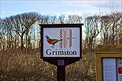 Grimston (brianarchie65) Tags: grimston holderness withernsea hornsea sign hamlet canoneos600d geotagged brianarchie65 countryside tress fields fence seat unlimitedphotos ukflickr ngc flickrunofficial flickr flickruk flickrinternational