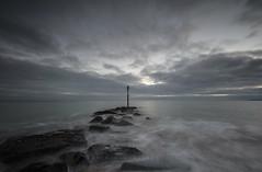 The Beach 2 (Visible Landscape) Tags: uk hampshire sunset haylingisland visiblelandscape landscape photography seascape