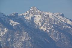 IMGP3479 Hoher Kasten (Alpstein) (Alvier) Tags: schweiz ostschweiz alpenrheintal rheintal rhein rheindamm baustelle autokran bunker railjet berge alpstein dreischwestern alvier