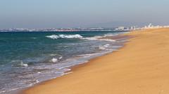 Faro Beach (Wild Chroma) Tags: faro beach algarve portugal sea sand praia praiadefaro