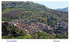 Novara di Sicilia (fr@nco ... 'ntraficatu friscu! (=indaffarato)) Tags: italia italy sicilia sicily messina novaradisicilia paese panorama