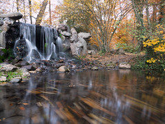 Waterfall (Obas123) Tags: water trees forest landscape waterfall