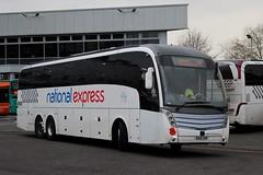 Skills Coaches: BX16 CHD (Northern Transport Photos) Tags: bx16chd skills skillsofnottingham nationalexpress