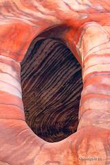 Big O (Piotr_ewaipiotr_pl) Tags: ifttt 500px petra jordan rock stone salmon desert textured geology nature