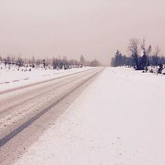 #Dagensfoto #Snöfall i norr. #Dorotea #Vilhelmina ☃️ (svenskvagguide) Tags: dagensfoto snöfall dorotea vilhelmina