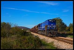 HŽ Cargo 2063 003, Sitno Donje 26-10-2017 (Henk Zwoferink) Tags: sitnodonje šibenskokninskažupanija kroatië hr hž cargo 2063 003 henk zwoferink